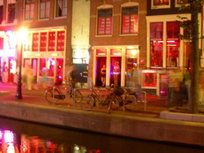 Amsterdam, il Quartiere a Luci Rosse