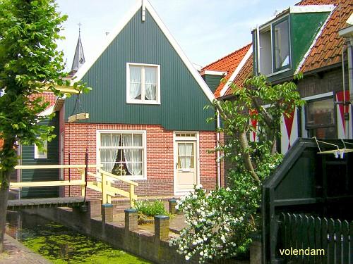 Volendam, una Casetta Tipica da vicino