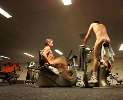 Olanda, Nudisti in Palestra