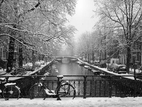 Amsterdam, in Inverno