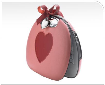 san valentino borsetta cuore pc