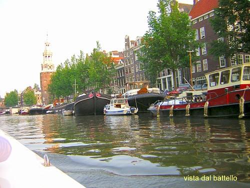 le escursioni in battello tra i canali