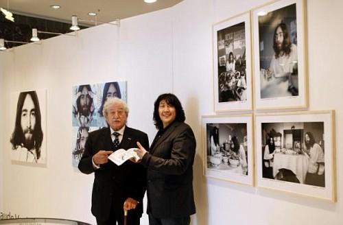 La protesta pacifica di John Lennon e Yoko Ono