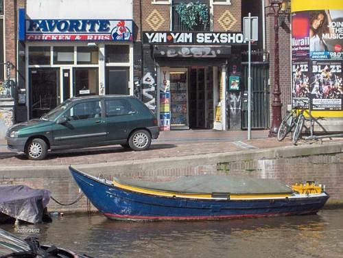 Barca ad Amsterdam