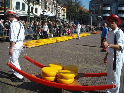 I Portatori di Formaggio di Alkmaar