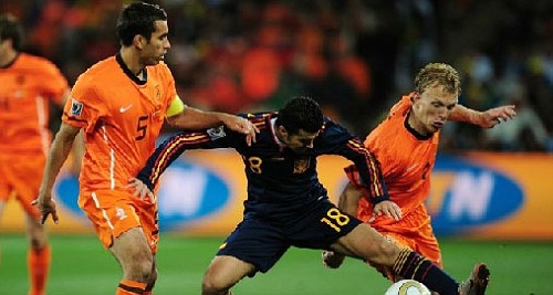 Olanda Spagna Mondiali di Calcio 2010 - Scontro con gli spagnoli