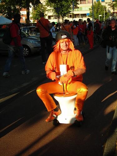 Mondiali 2010 - Olanda - Uruguay. I Tifosi