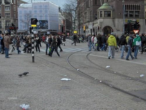 Gente per Strada ad Amsterdam