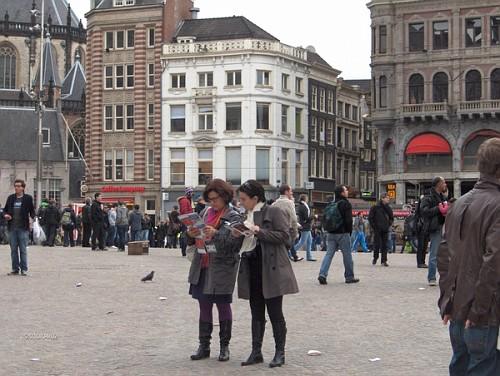 Piazza ad Amsterdam